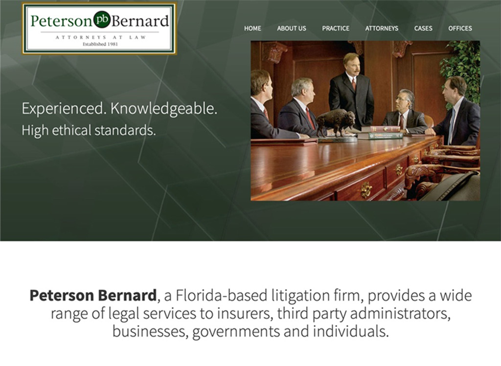 Law Firm web site